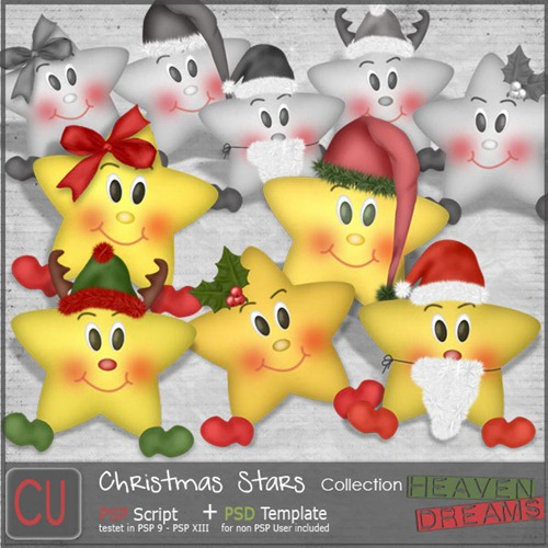 HD_christmas_stars_collection