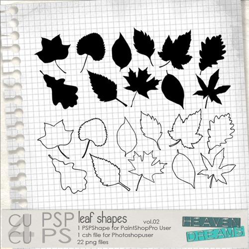 HD_leaf_shapes_vol_01