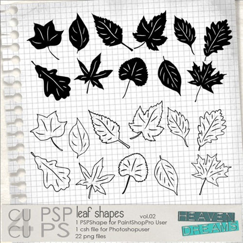 HD_leaf_shapes_vol_02