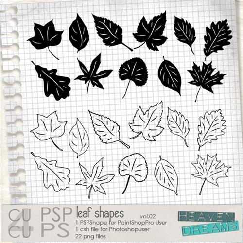 HD_leaf_shapes_vol_02
